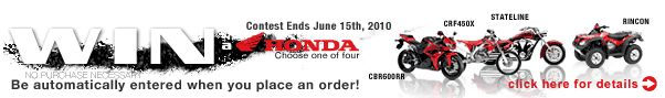 Honda Sweep Stakes - Super Sport Bike Online recommends you enter to win